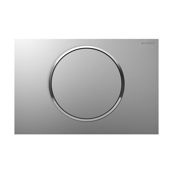 Geberit Sigma 10 хром мат/лъскав/мат активатор за WC 115.758.KN.5