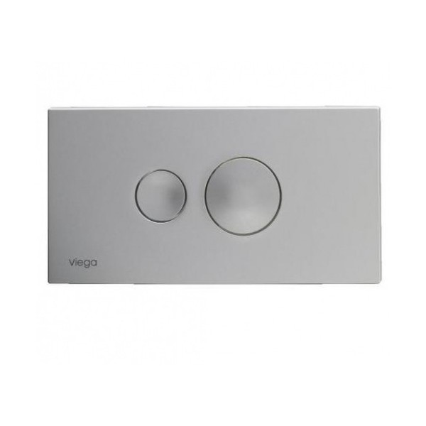 Viega Visign for Style 10 хром мат бутон за WC 596 347