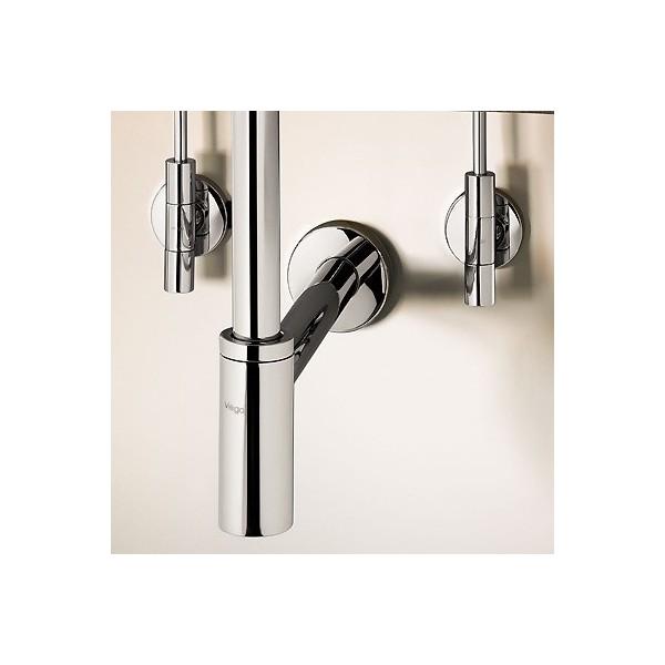 Декоративен сифон за мивка Viega Eleganta set 1