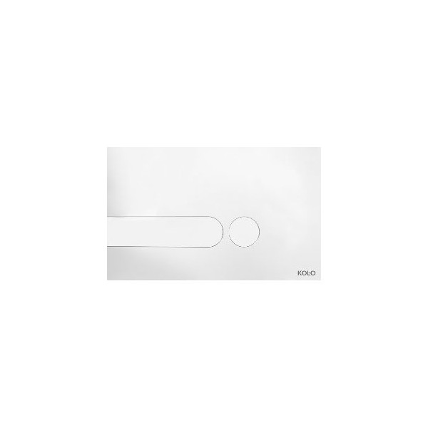 Бутон KOLO SLIM Бял с овални форми