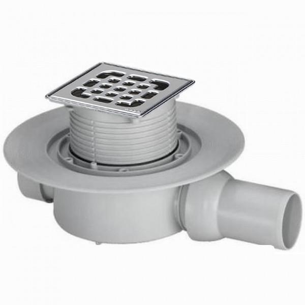Рогов сифон за баня Viega Advantix със суха клапа (метална рамка) 583 248