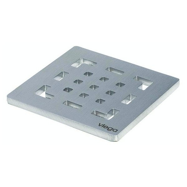 Решетка за сифон Viega Advantix Visign RS2 94x94 - неръждаема стомана 492 298