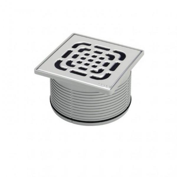 Горна част за подов сифон Viega Advantix 150х150 - квадратна пластмасова рамка и решетка