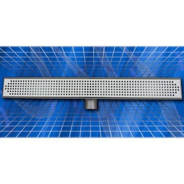 Линеен сифон Inox Style квадрат 685x80