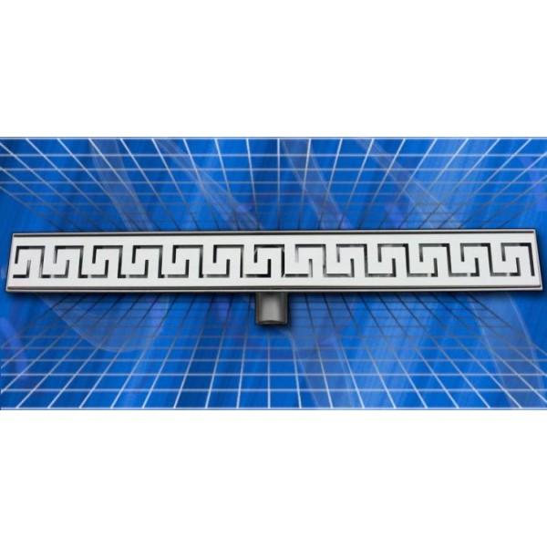Линеен сифон Inox Style версаче 785x80