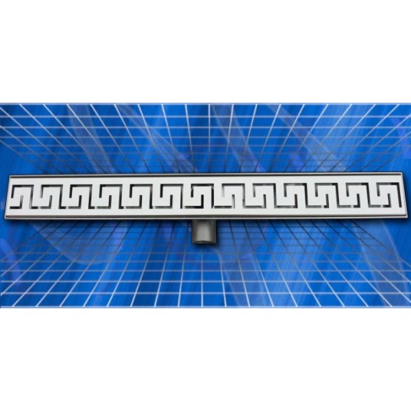 Линеен сифон Inox Style версаче 885x80