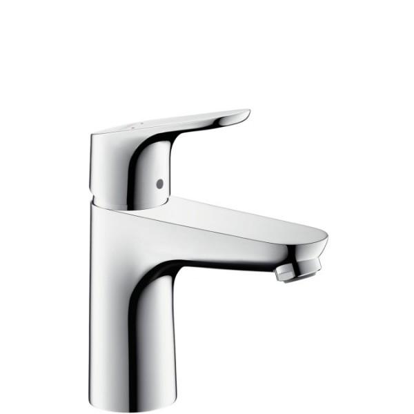 Hansgrohe Focus 100 смесител за мивка с изпразнител