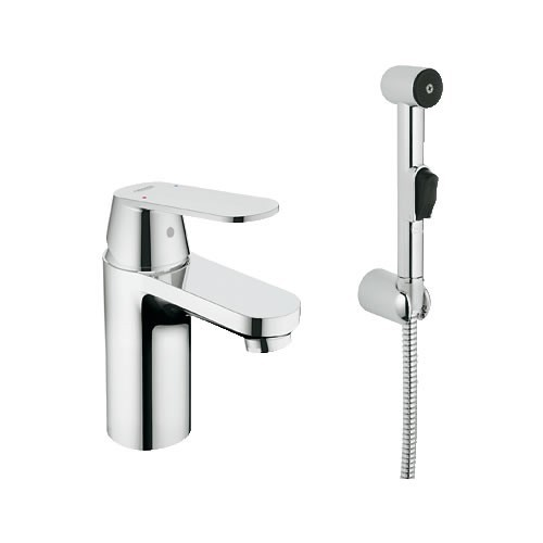 Grohe Eurosmart Cosmopolitan S-Size за умивалник с ръчен душ