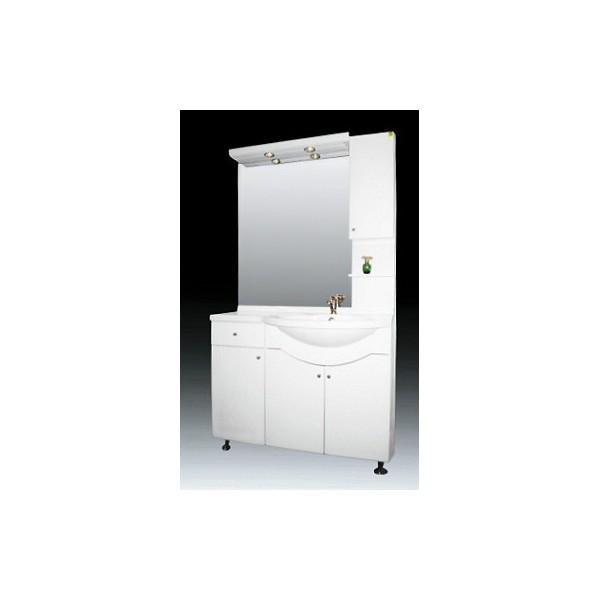 Долен PVC баня Алегро 105 см amik alegro 105