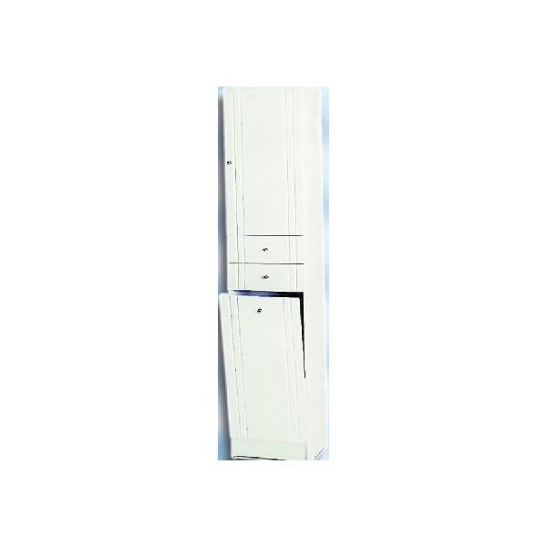 Колона на 40см с две вратички и две чекмеджета + кош amik kolona 40