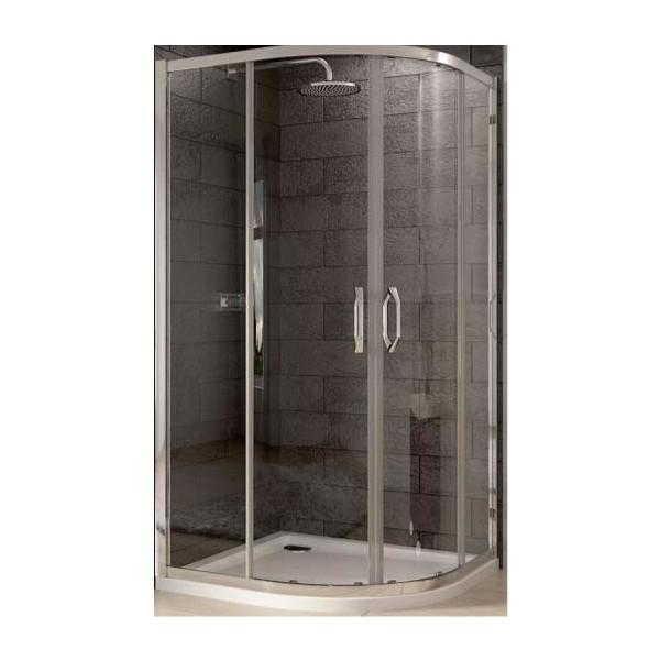Huppe X1 80х80 R500 овална душ кабина 140601.069.321