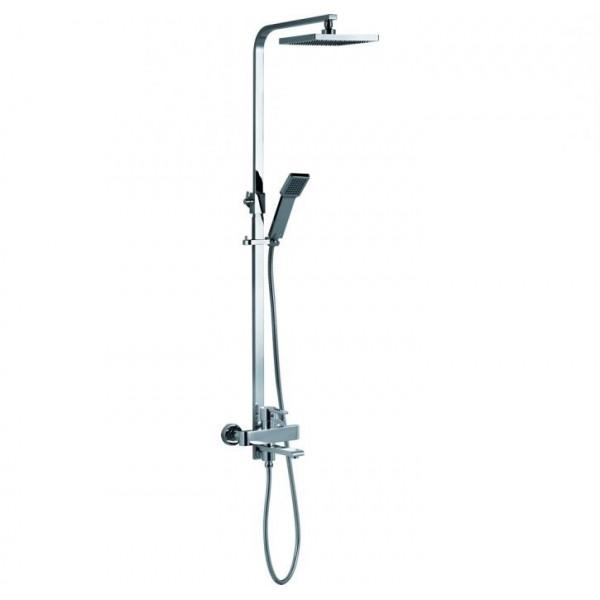 Квадратна душ колона с ръчен душ, пита и чучур Ellian espe_ellian