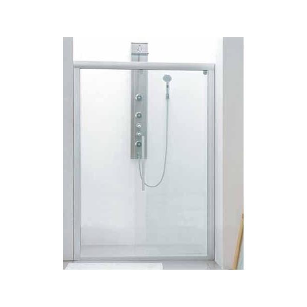 Разделител за баня с една плъзгаща се врата на 130см PF-002-130