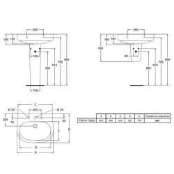Ideal Standard Active 60x48 см мивка 2