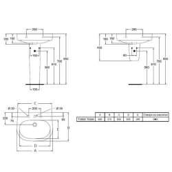 Ideal Standard Active 68x51 см мивка 2