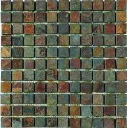 Каменна мозайка 2.5x2.5 Dekostock Ferro 30.5x30.5 dec_ferro
