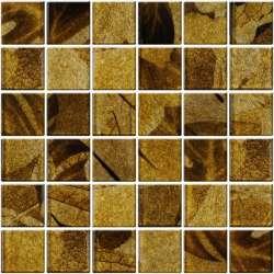 Стъклена кафява мозайка 5х5 Formosa A-MGL08-XX-040 2