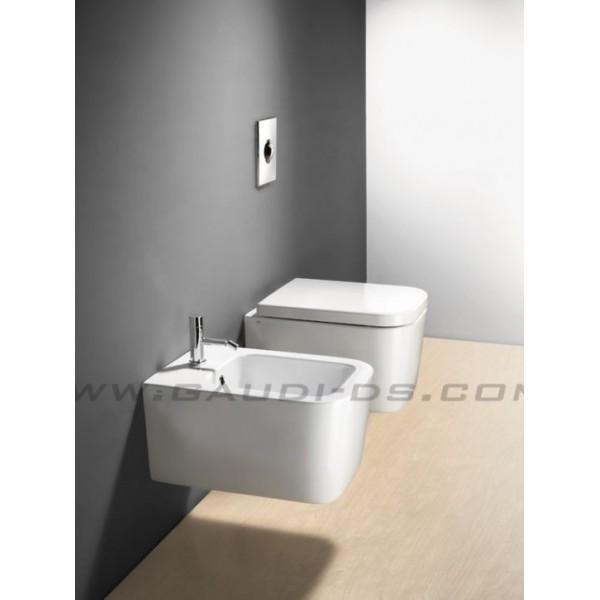 Промоция на квадратна конзолна тоалетна GSI Traccia 50 см 691611
