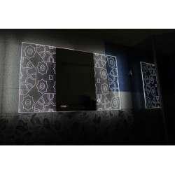 Огледало с вградено LED осветление Labyrinth 100x60см