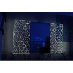 Огледало с вградено LED осветление Shine 100x60см
