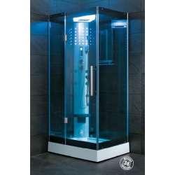 Квадратна парна душ кабина 90х90 VS-301