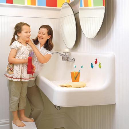 Как да украсим банята на детето си