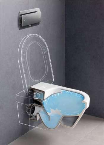 Тоалетна с Rimless