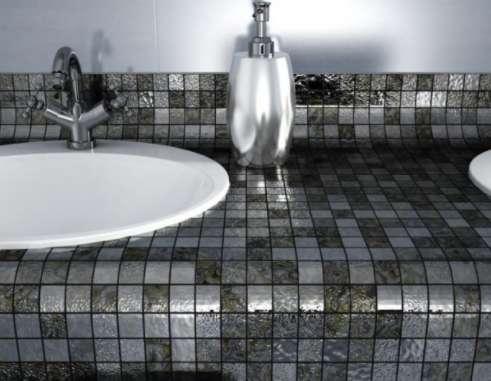Мозайка в банята