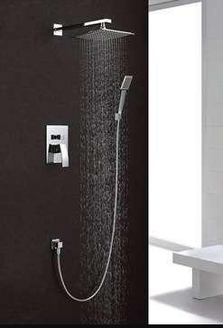 Модерна и луксозна баня с душ системи за вграждане