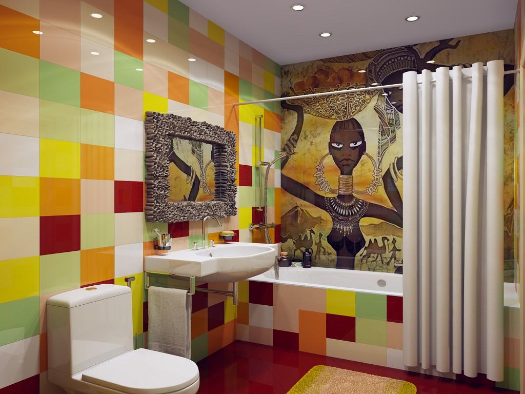 Цветно обзавеждане за баня - едно по-различно решение