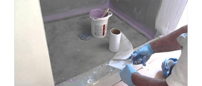 Полагане на хидроизолация за баня