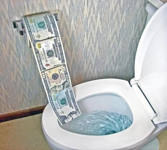 Колко струва поставяне на тоалетна чиния