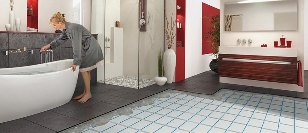 Подово отопление за баня - какво представлява