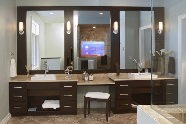 С какви шкафове да обзаведете банята си
