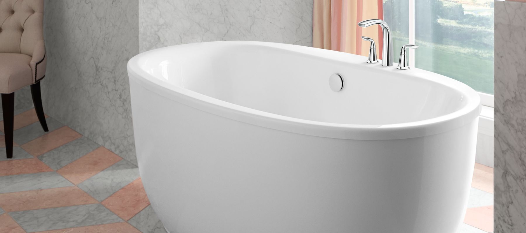 Грижа за акрилната вана - почистване
